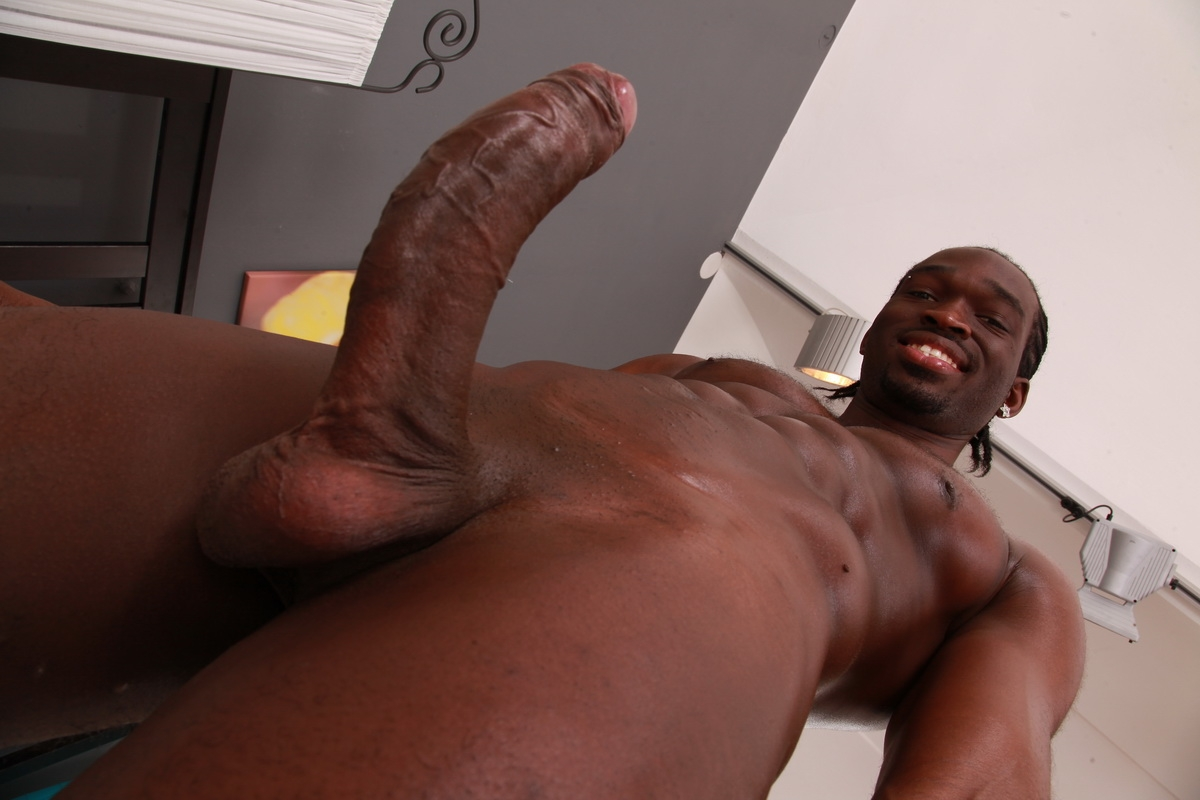 Playing with big black dick-5885